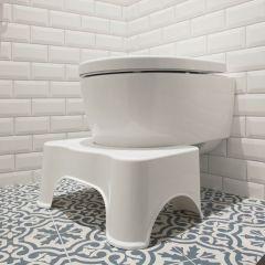 Toiletsquat one size toiletkruk toiletkrukje wc krukje poep kruk vooraanzicht
